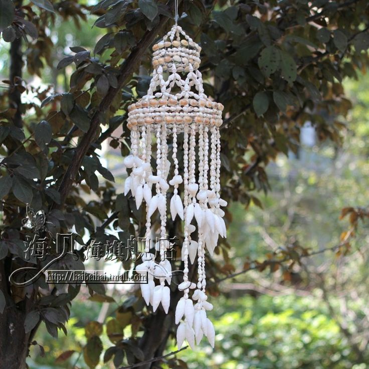 Shanghai Beihai natural shell wind chimes Mediterranean home decor valentines to send a small gift - eBoxTao, English TaoBao Agent, Purchase Agent. покупка агент