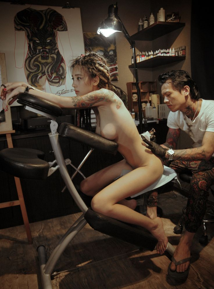 Women with Tattoo