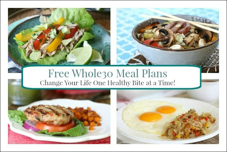 Free Whole30 Meal Plan Kits