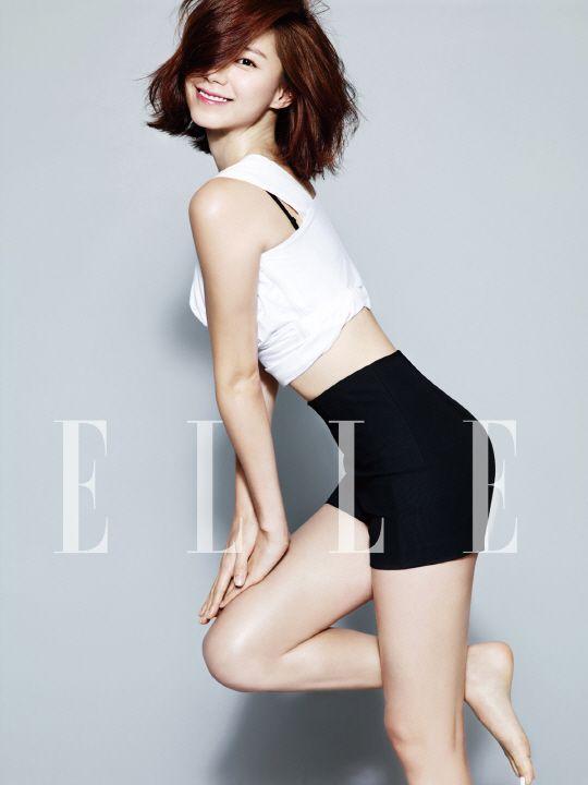 Park Soo Jin Elle Korea Magazine June Issue '14