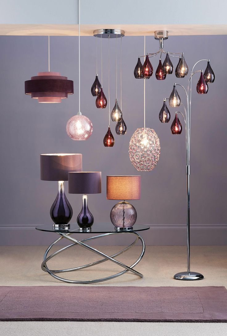 Buy hanbury plum floor lamp from the next uk online shop for Buy floor lamp online