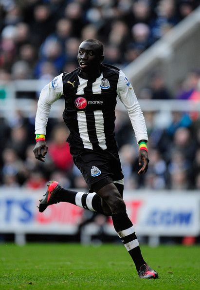 Papiss Cisse playing for the MagPIES Newcastle United FC  ~ HAPPY PI DAY! ~