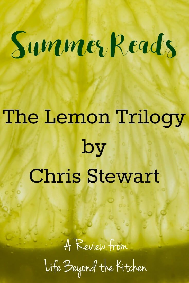 Summer Read: The Lemon Trilogy by Chris Stewart {#Review} | Life
