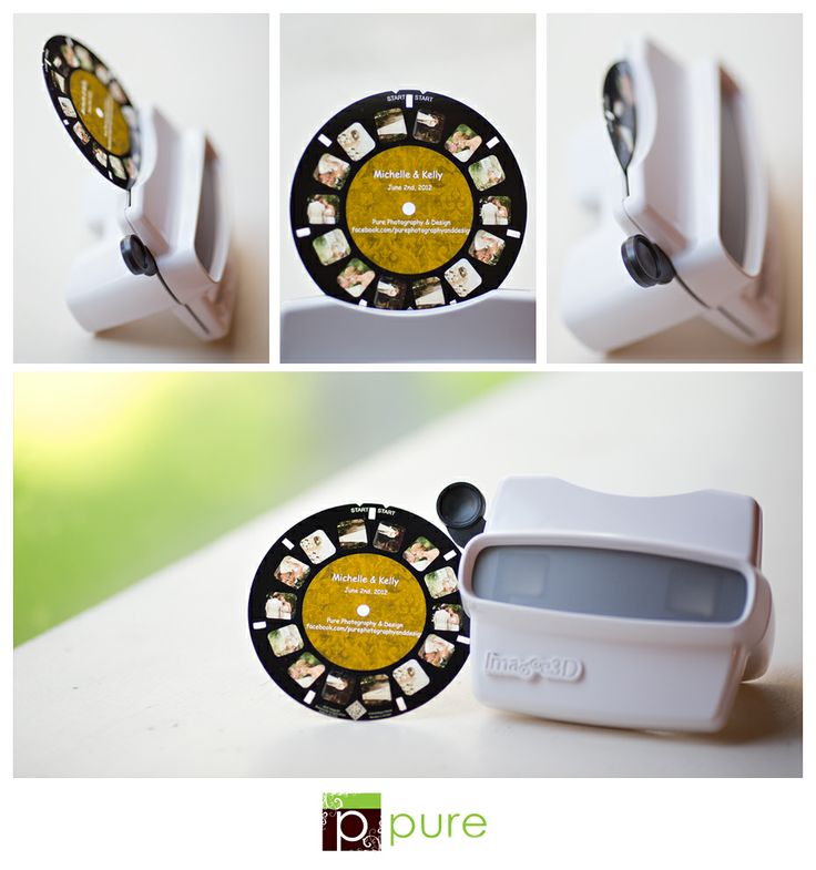 Christmas Gift Ideas For Business Clients Part - 16: Client Viewmaster Photo Gift 5 Client Holiday Gift Ideas -- Pretty Little  Packaging
