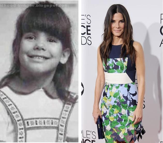 """Sandra Bullock -- Sandra Bullock, nominated for best actress in a motion picture, drama, for her role in """"Gravity,"""" looks adorable in a thro..."""