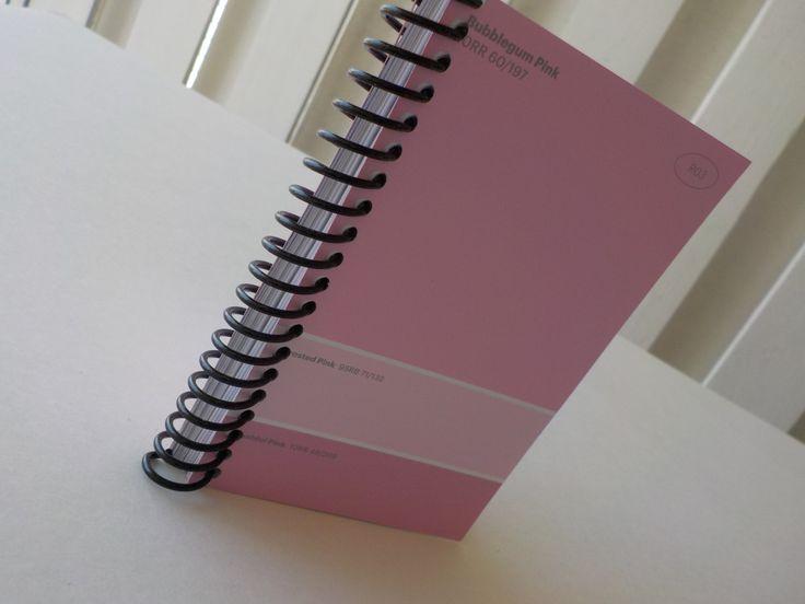 40 best Handmade Paint Sample Card Notebooks images on Pinterest - sample cards