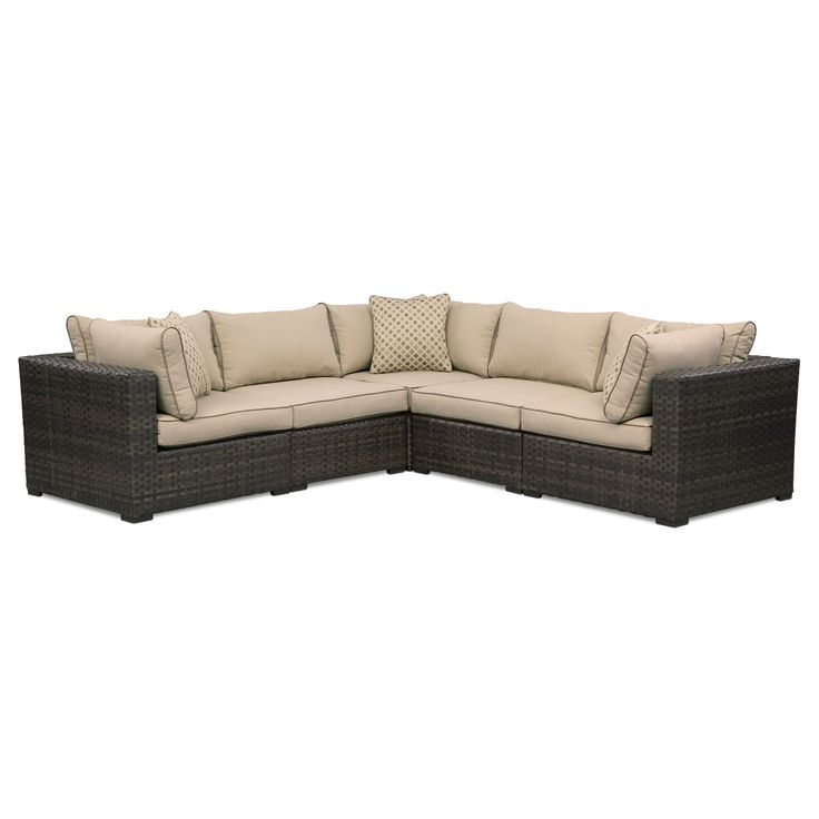 Regatta 5 Pc. Outdoor Sectional By Retreat ZR6WUaKR #VCFcontest · Outdoor  SectionalsValue City FurnitureOutdoor ...