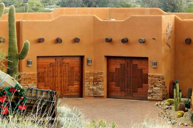 Image Result For Spanish Style Garage Doors