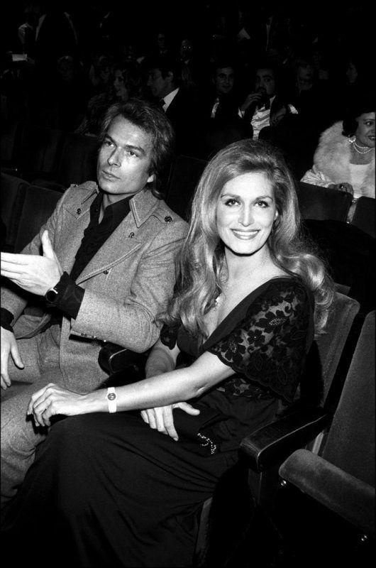 Dalida et Richard Chanfray