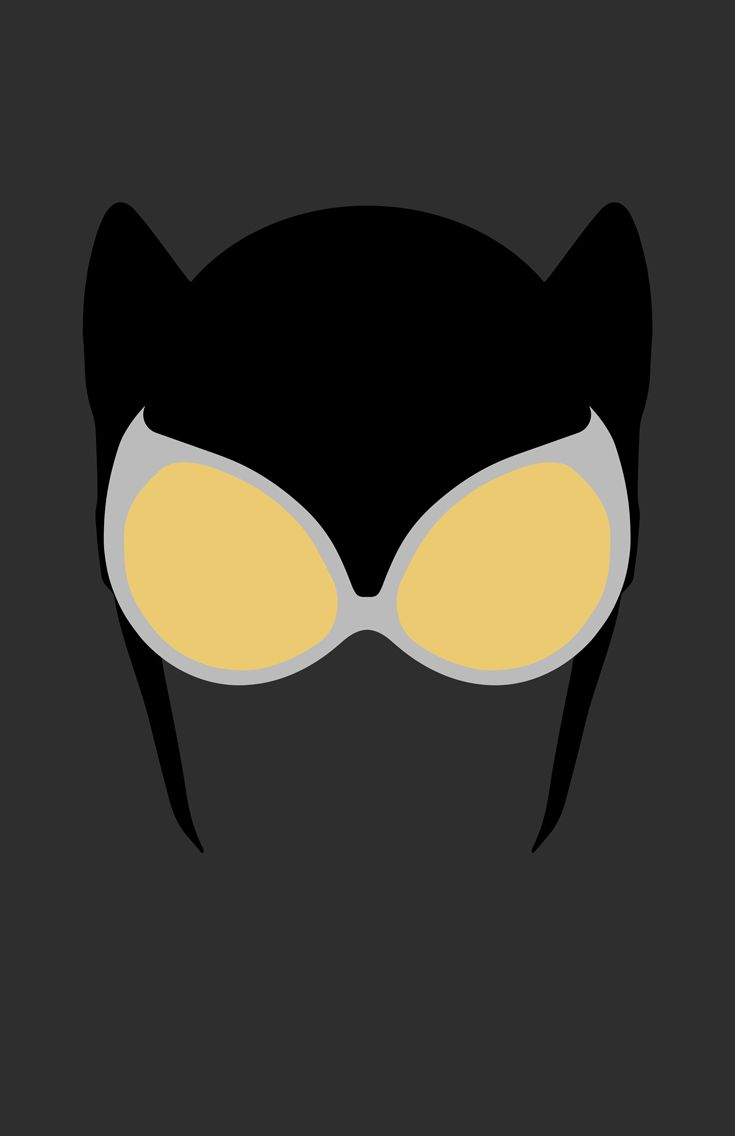 Catwoman Mask Minimalist Design By Burtheflydeviantart On DeviantART