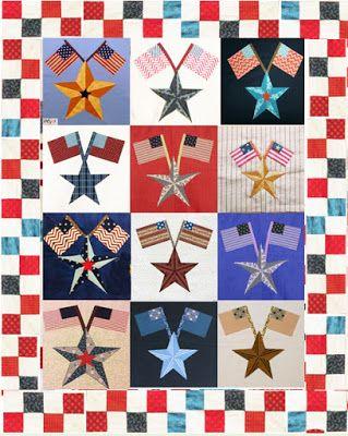 Civil War Quilts: All Block Twos