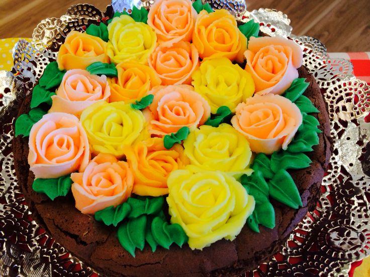 #チョコレートケーキ