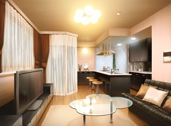 Modern Living Room Episode Interactive Backgrounds Living Room Background Anime Scenery Living room anime apartment background