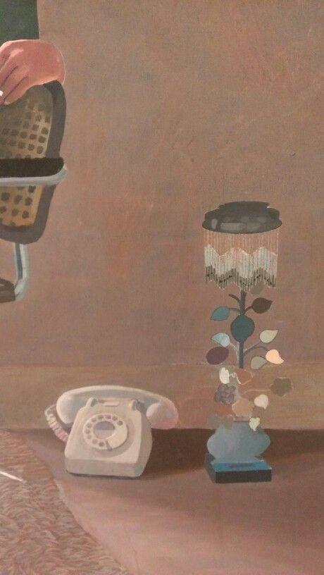 telephone on the floor