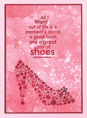 Stamp-it Australia: siset061 Great Shoes - Card by Maria