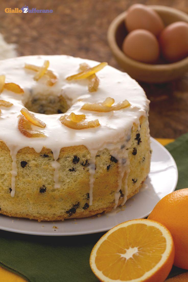 Con la #ChiffonCake arancia e #cioccolato (orange chocolate chiffon cake) vi sembrerà di essere su una nuvola...o di mangiarla! #ricetta #GialloZafferano