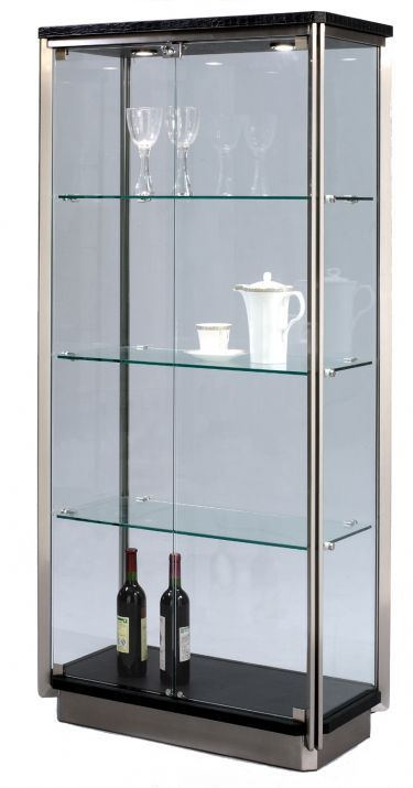 how to make a curio cabinet look modern