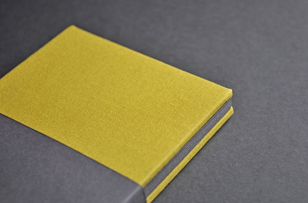 The Counter Press: A first stab at book binding