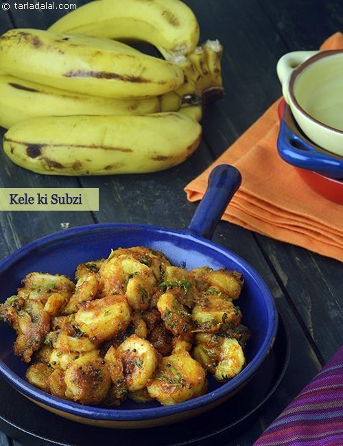 The 1486 best indian recipes images on pinterest vegetarian kele ki sabzi banana subzi recipe by tarla dalal tarladalal indian vegetable recipesindian food forumfinder Gallery