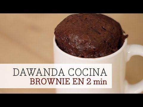 Cómo hacer un brownie en el microondas en 2 minutos | DaWanda - YouTube