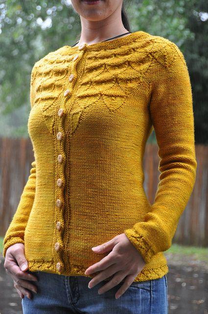 Acorns sweater by Carol Sunday