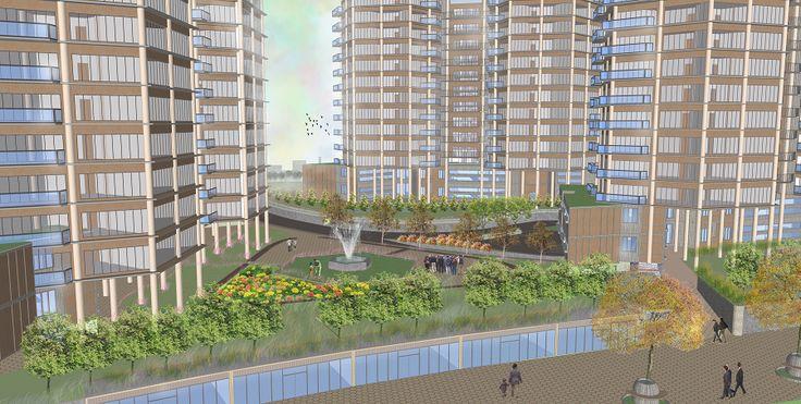 Golontor City Apartment - Public Space Scenery