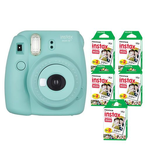 Fujifilm-Instax-Mini-8-Fuji-Instant-Film-Camera-Mint-100-Sheets-Instant-Film