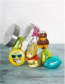 Easter - Gifts and Hampers: Hippity Hoppity Easter Candy Jar!