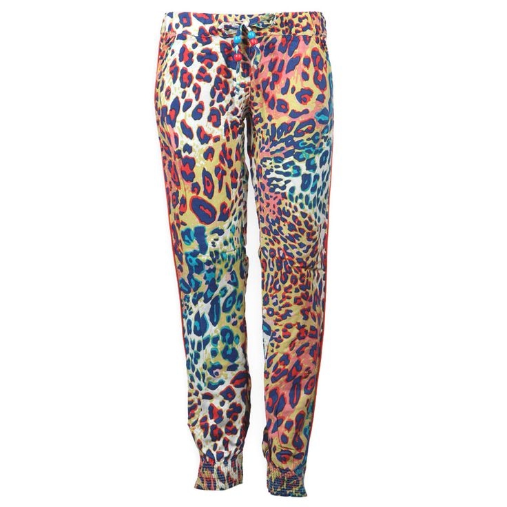 Retourjeans Loose Fit Lange broek Girls June Panter Multi Color