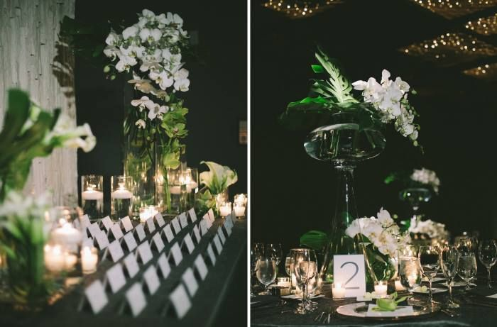 All White Florals And Sign In Table By Avant Gardens Miami