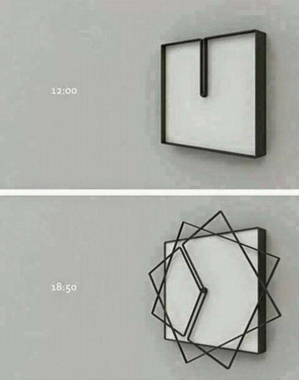 Les 25 meilleures id es de la cat gorie horloge design sur for Horloge murale 3 cadrans