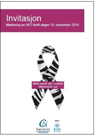 Bli med på NET-kreft dagen, 10. november. Husk påmelding post@carcinor.no #netcancerday