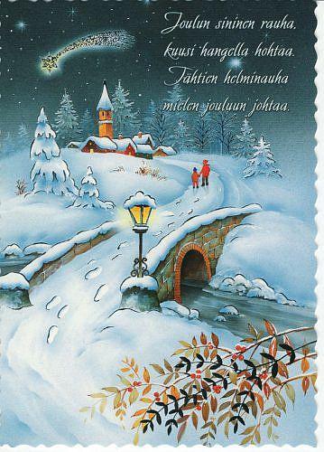 Гифки для, открытки с рождеством на финском языке