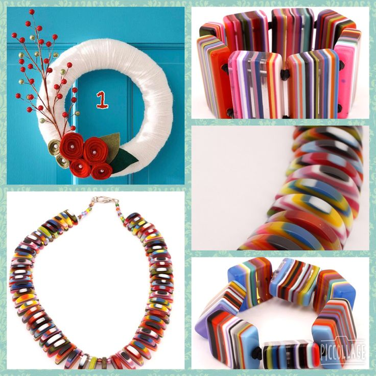 Colourful jewellery. Perfect Christmas stocking fillers