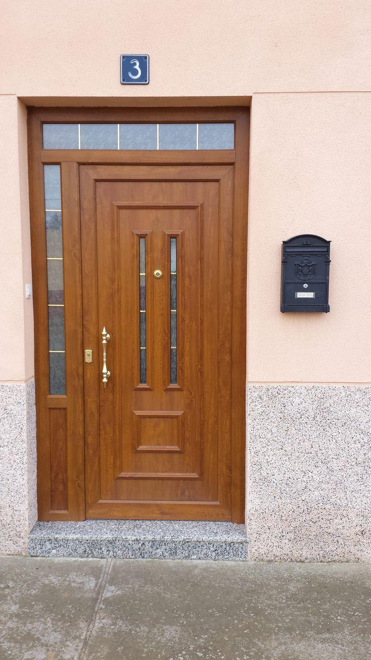TEMPO ARA Aluminio foliado #indupanel #paneles #puertas #aluminio #pvc #puerta #aluminium  #doors #chalet #decoration #decoracion #hogar #classic #clasica #lacado #madera