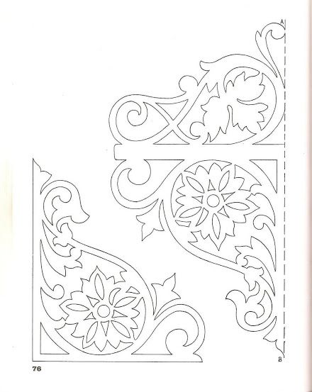 Victorian Scroll Saw Patterns 3 (33 fotoğraf)