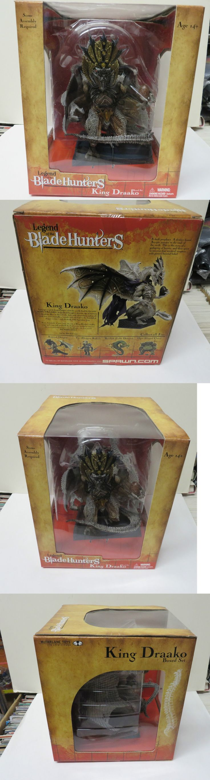 Fantasy 175693: Mcfarlane Toys Dragons Blade Hunters King Draako Dragon Deluxe Box Set New -> BUY IT NOW ONLY: $69.95 on eBay!