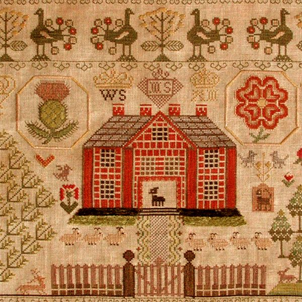 Best antique samplers stitcheries images on