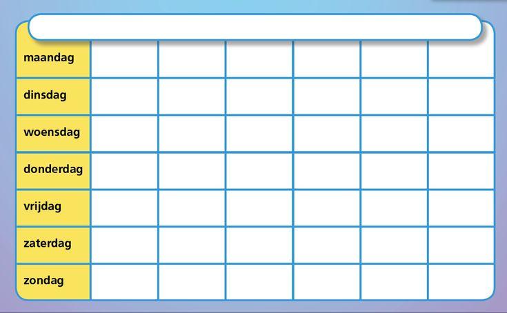 736 x 454 jpeg 68kB, Lege maandkalender. Link naar PDF bestand.: Pdf ...
