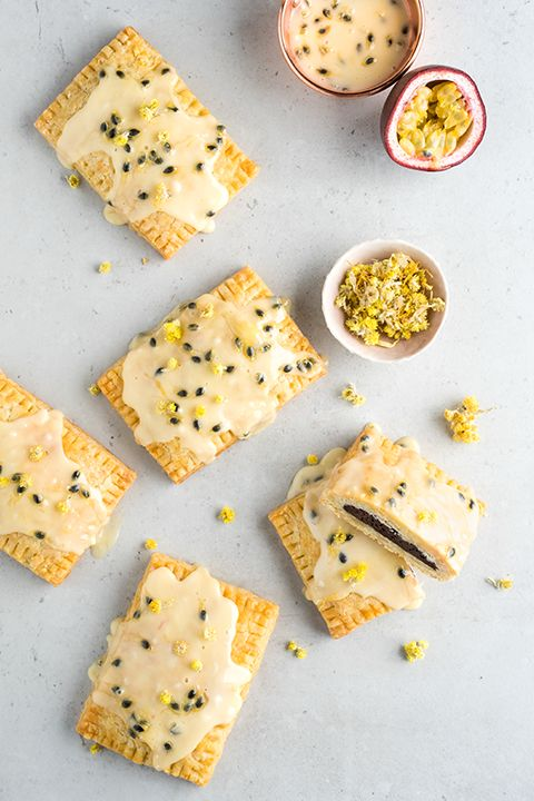 INGREDIENTS BY SAPUTO | Think you've already tasted the perfect family dessert? These homemade pop tarts will make you think again. With dark chocolate ganache filling and passion fruit icing, they're perfect for kids and grown ups alike!