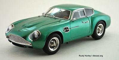 Price - $440.10. 1961 Aston Martin DB4 GT Zagato Model Car By CMC Diecast Model M-132 ( Brand - CMC, Scale - 1:18, Vehicle Make - Aston Martin, Model - DB4 GT Zagato, MPN - M-132, Year - 1961, Type - Diecast model, National: European, Vehicle Type - Car, UPC - 754769968766    )