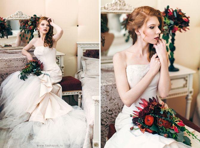 невеста в платье от Sun Patrick
