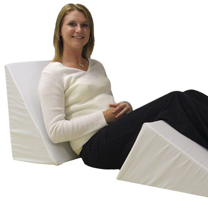 bed wedge pillows are designed to elevate different regions of the body during rest and