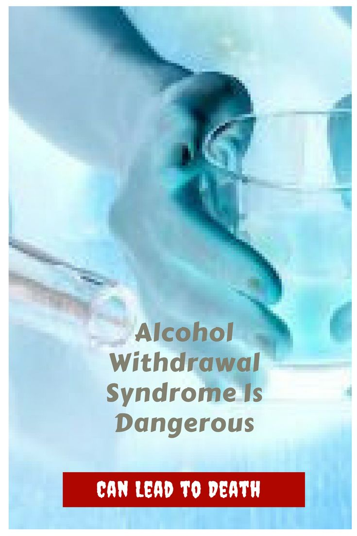 Alcohol Withdrawal Syndrome Is Dangerous, Can Lead to Death. Alcohol withdrawal syndrome is an acute condition characterized by a set of self-limiting signs and symptoms of varying severity, secondary to total or partial alcohol withdrawal, and may be associated with numerous clinical problems and / or other psychiatric disorders.