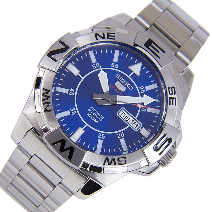A-Watches.com - Seiko 5 Sports Compass Blue Dial Automatic Silver Rotating Bezel Male Watch SRPA61K1 SRPA61, $158.00 (https://www.a-watches.com/seiko-5-sports-compass-blue-dial-automatic-silver-rotating-bezel-male-watch-srpa61k1-srpa61/)