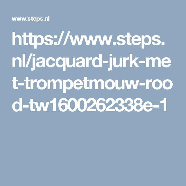 https://www.steps.nl/jacquard-jurk-met-trompetmouw-rood-tw1600262338e-1