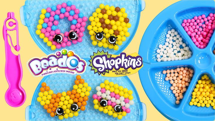 Beados Shopkins Tastee Bakery Activity Pack | Easy DIY Make Your Own Mag...