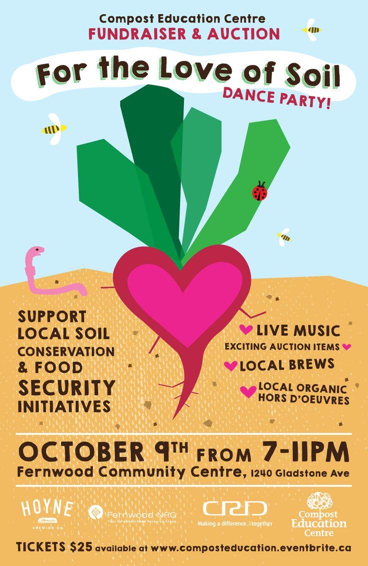 For the Love of Soil Fundraiser Dance Party, Victoria B.C.  http://fernwoodnrg.ca/for-the-love-of-soil-dance-party-oct-9-2014/