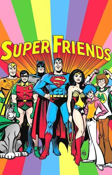 Super Friends Saturday morning cartoon from the 70's