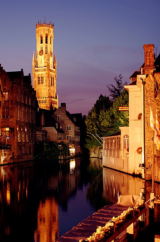 Brugge  One of the most beautiful cities I've been to